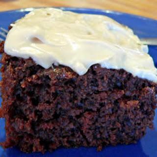 Sourdough Chocolate Cake.
