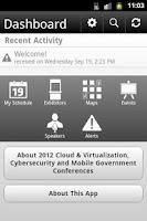 Screenshot of GovCCM 2012