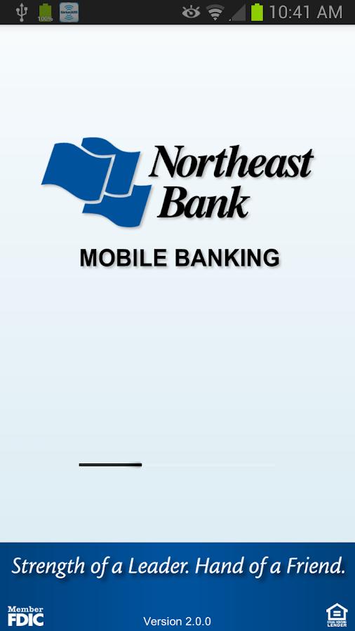 Northeast Bank Mobile Banking - screenshot