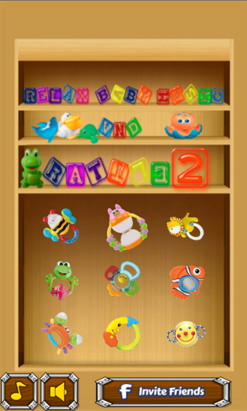 Relax Baby Music and Rattle 2- screenshot