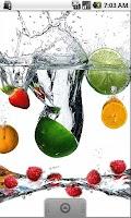 Screenshot of Juicy Fruit Live Wallpaper