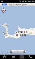 Screenshot of Cayman Visitor