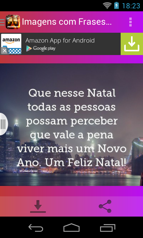Screenshots of Imagens com Frases de Ano Novo for iPhone
