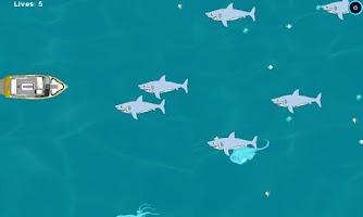 Screenshot of Shark Attack