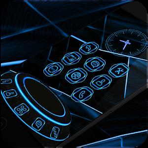NeonBlue 2 Next Launcher Theme 個人化 App LOGO-APP試玩