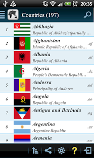 Countries Info Free - screenshot thumbnail
