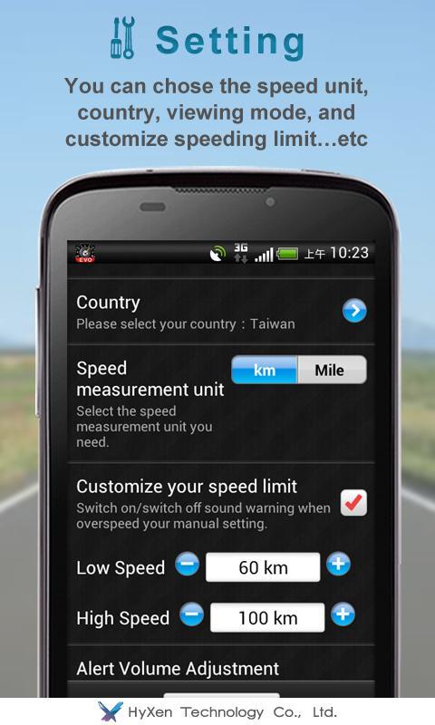 Speed Detector EVO - screenshot
