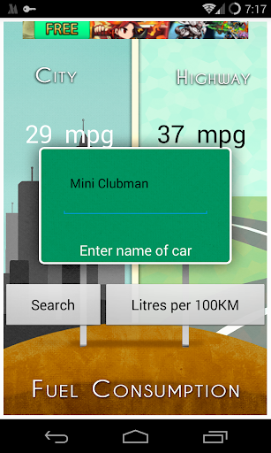 Car Fuel Consumption