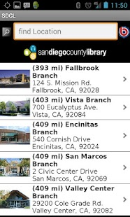 San Diego County Library - screenshot thumbnail
