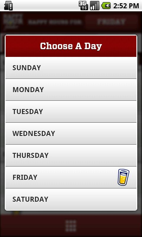 Happy Hour Finder - screenshot
