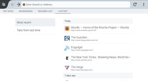 Firefox Beta Screenshot 2
