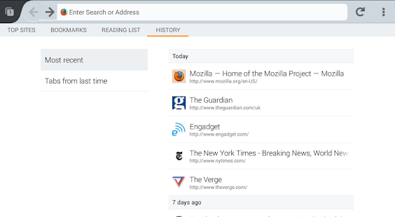Firefox Beta - screenshot thumbnail