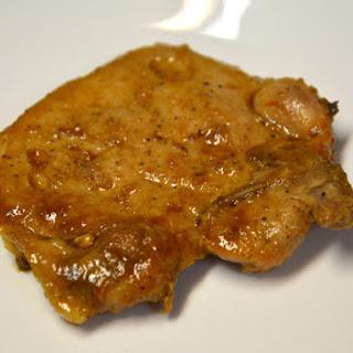Teriyaki Baked Pork Chops.