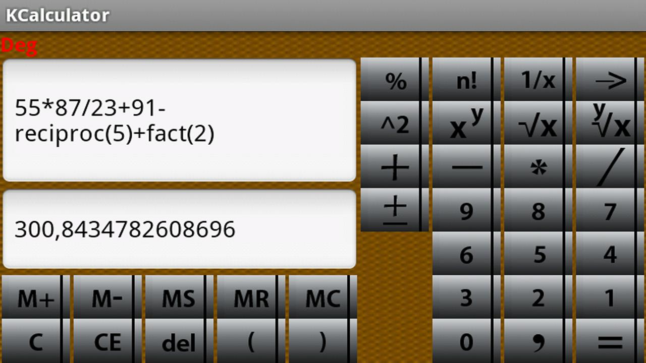 Smart Student Calculator Pro - screenshot