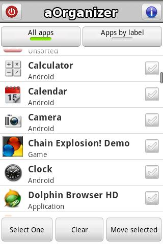 aOrganizer - screenshot