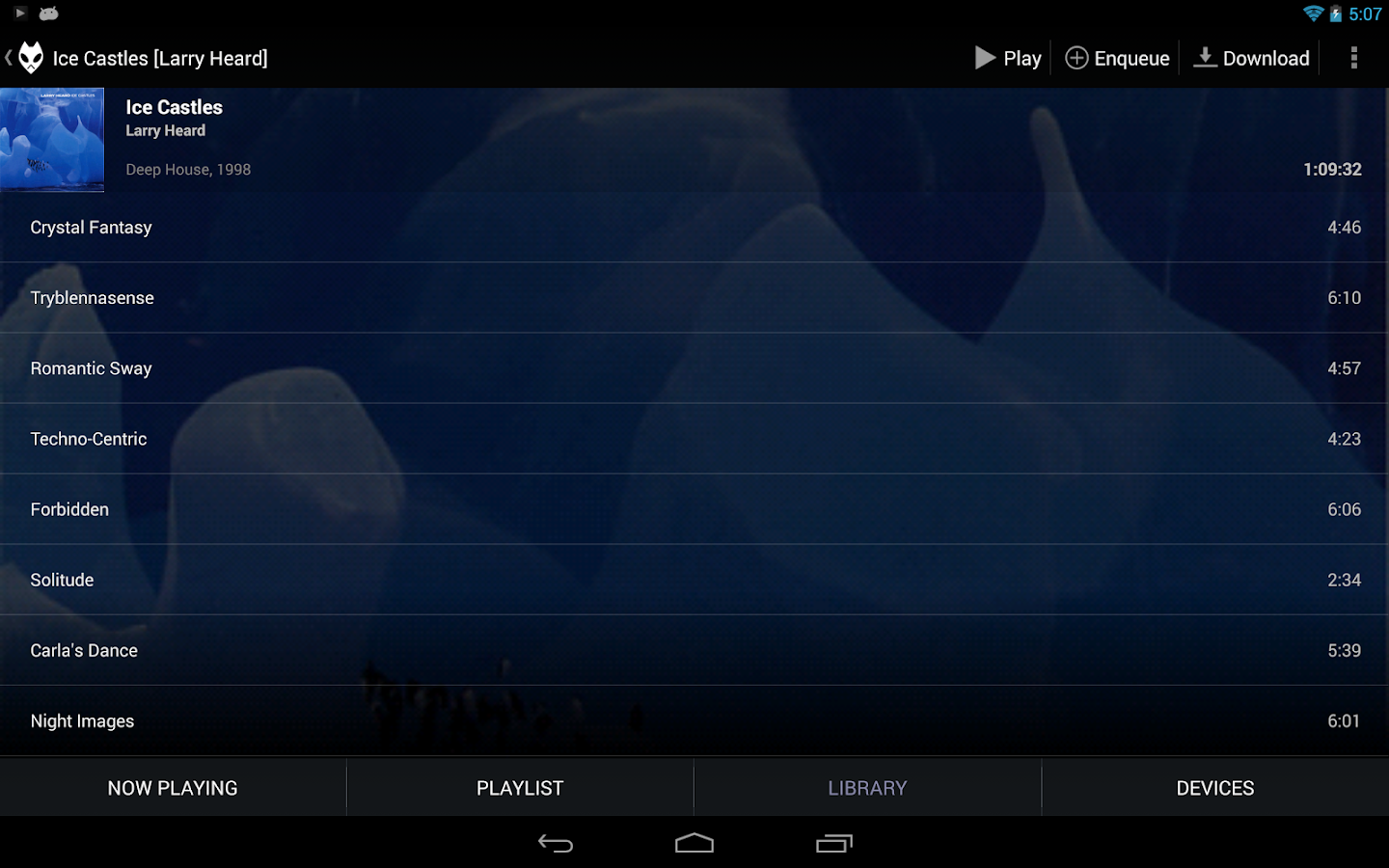 BubbleUPnP (Chromecast/DLNA) - screenshot