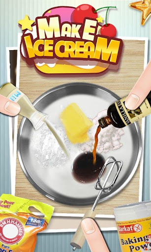 Ice Cream Maker - cooking game Screenshot