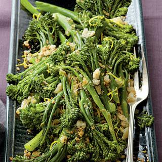 Lemon Broccolini.
