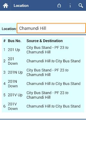 【免費交通運輸App】Mysore Bus Info-APP點子