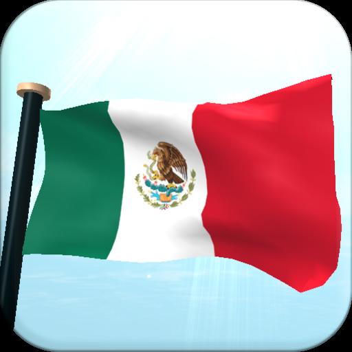 墨西哥旗3D免费动态壁纸 個人化 LOGO-玩APPs