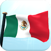 Mexico Flag 3D Free Wallpaper