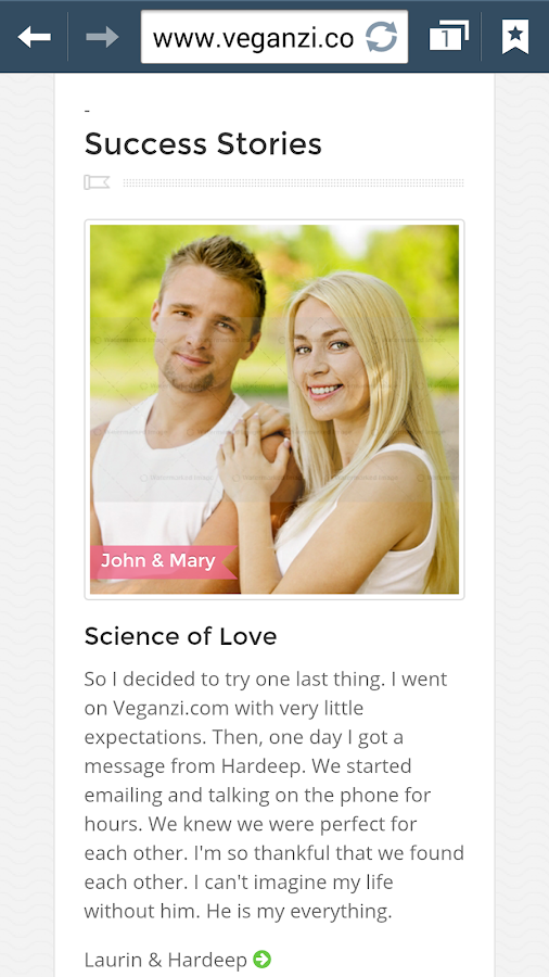 vegan dating site