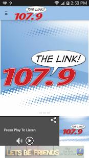 107.9 The Link - screenshot thumbnail