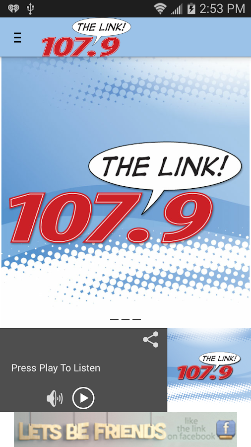 107.9 The Link- screenshot