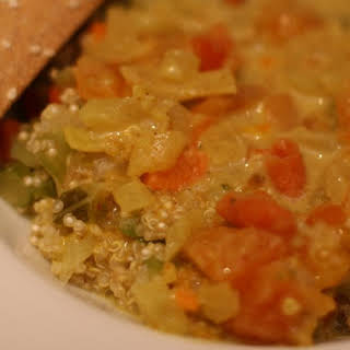 Soul Soothing Quinoa Coconut Curry.
