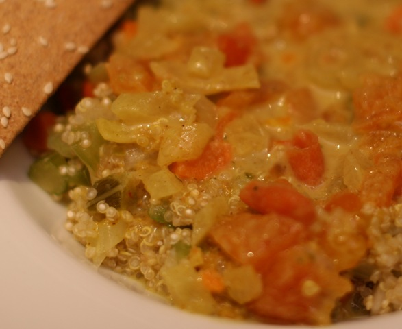 Soul Soothing Quinoa Coconut Curry