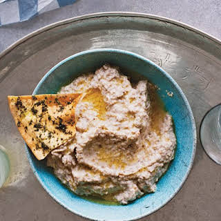 Roasted-Eggplant Dip with Greek Yogurt.