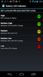 Battery LED Indicator- screenshot thumbnail