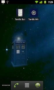 Tardis Live Wallpaper - screenshot thumbnail