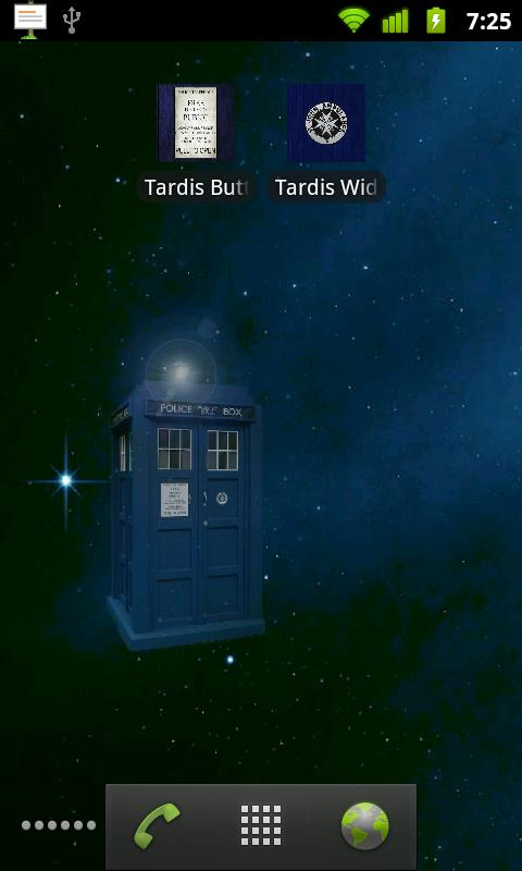 Tardis Live Wallpaper - screenshot