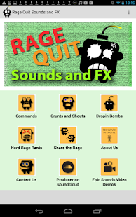 Rage Quit Sounds and FX - screenshot thumbnail