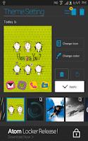 Screenshot of Have a nice day Atom theme