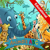 Real Animals Alphabet for kids
