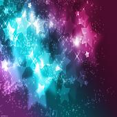 Dazzling Stars Keyboard Skin