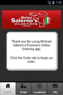 Michael Salerno's Pizza, Pasta - screenshot thumbnail