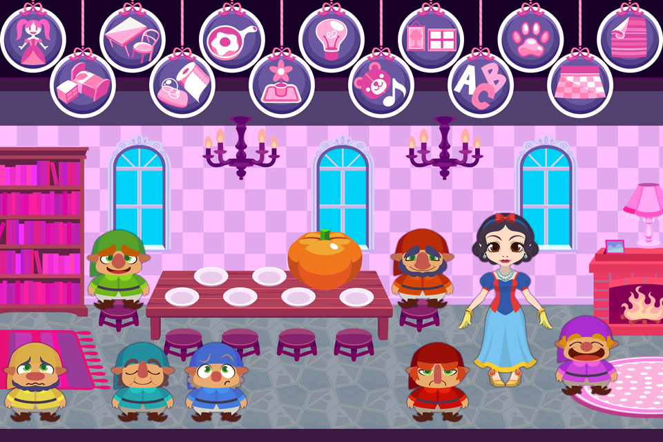My Fairy Tale - Magic Dollhouse Decoration Game- screenshot