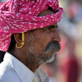 Turban by Rakesh Das - People Portraits of Men