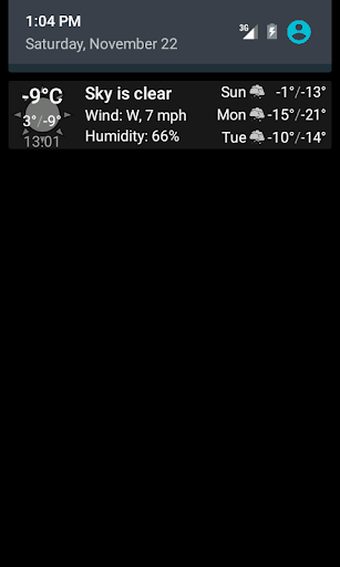 Weather notification