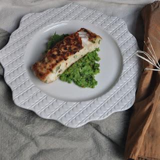 Halibut on Minted Fava Bean and Pea Puree