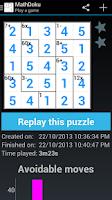 Screenshot of MathDoku