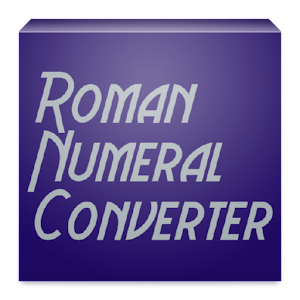 Roman Numeral Converter - Android Apps on Google Play