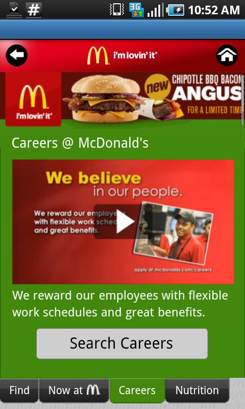 McDonald's - screenshot