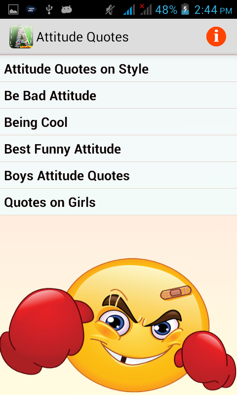 Girl With Attitude Quotes Amusing Attitude Quotes  Android Apps On Google Play