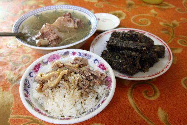 [食記] 北港 老受鴨肉飯