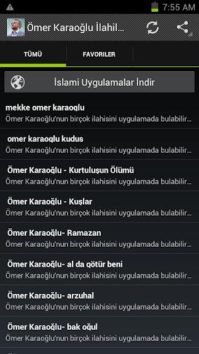 Ömer Karaoğlu İLAHİLERİ