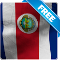 Costa rica flag lwp Free icon